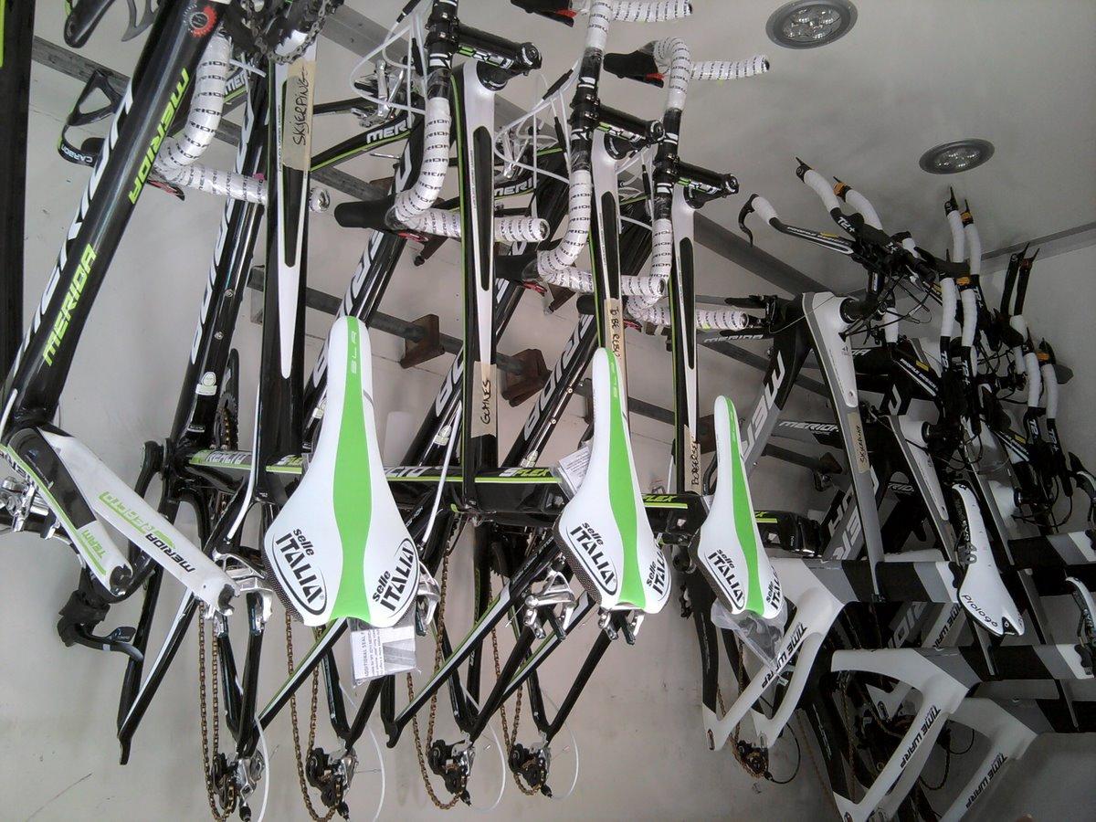 Sykler i lastebilen