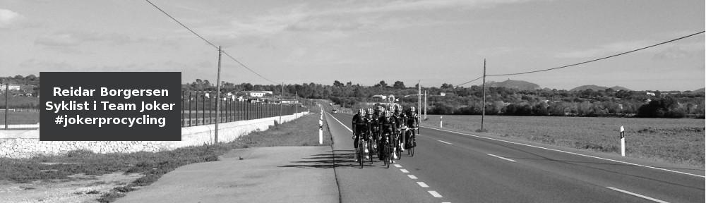 Reidar Borgersen - Syklist i Joker Merida