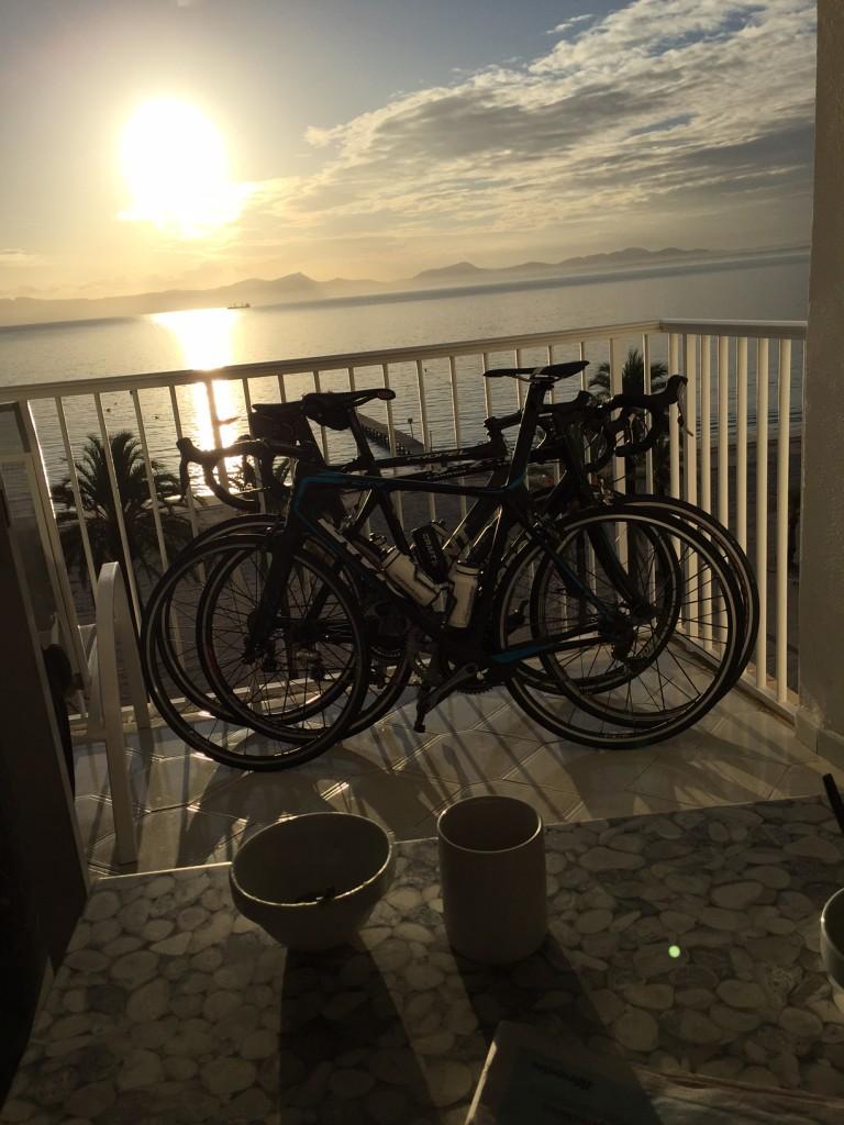 utsikt Alcudia Beach